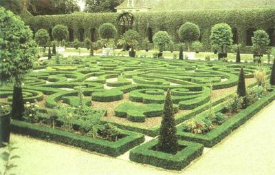 中国传统园林植物造景的配置方式有哪些答:古典园林根据花木的种类